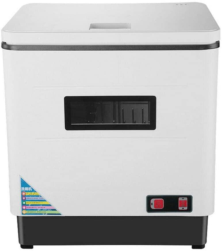 Adsada Kitchen Countertop Stainless Steel Mini Dishwasher Full Automatic Dish Washer US