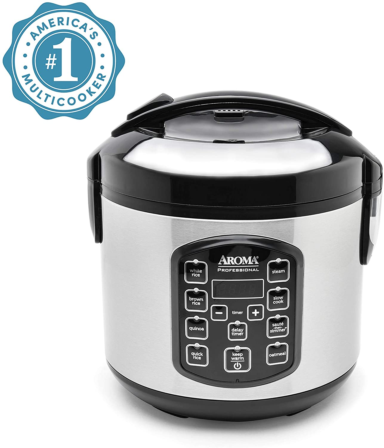 Aroma Housewares ARC-954SBD Rice Cooker, 4-Cup Uncooked