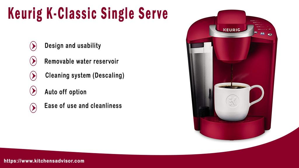 Keurig K-Classic Single Serve