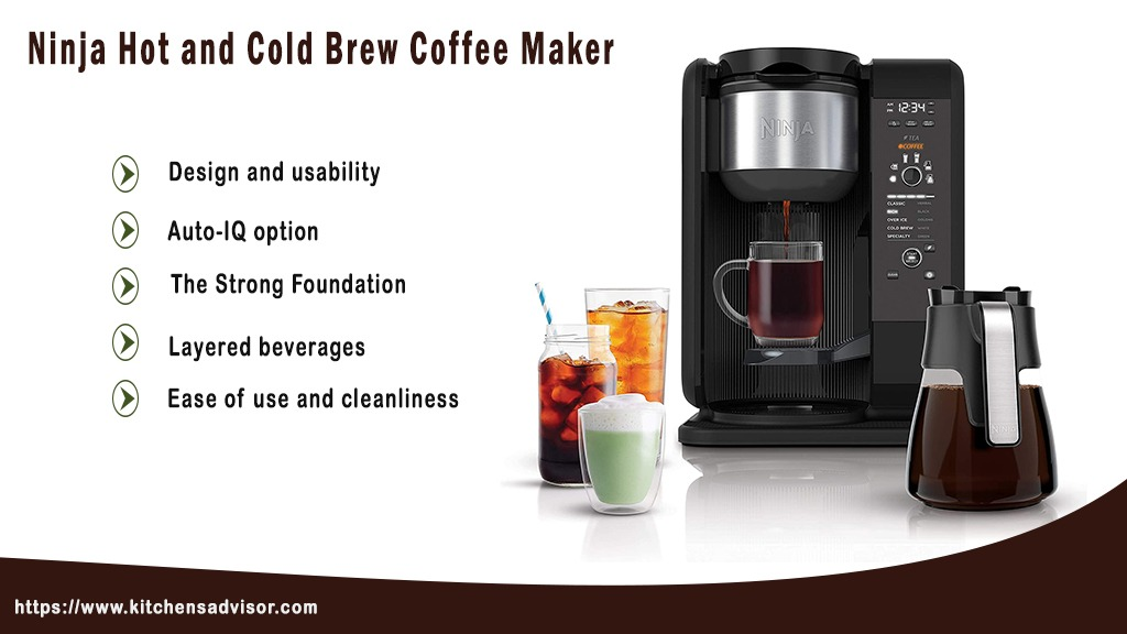 Ninja Hot and Cold Brew Coffee Maker