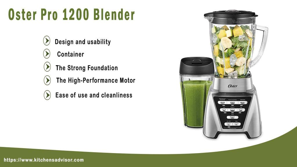 Oster Pro 1200 Blender